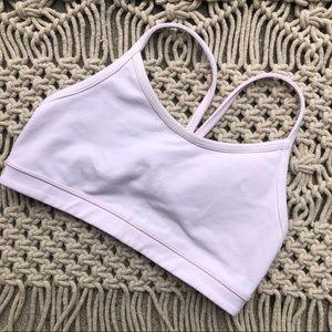 lululemon athletica Intimates & Sleepwear - Lululemon light pale pink sports bra size 4